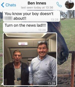 """Imagen - Un rehén se saca un """"selfie"""" con el secuestrador de EgyptAir"""