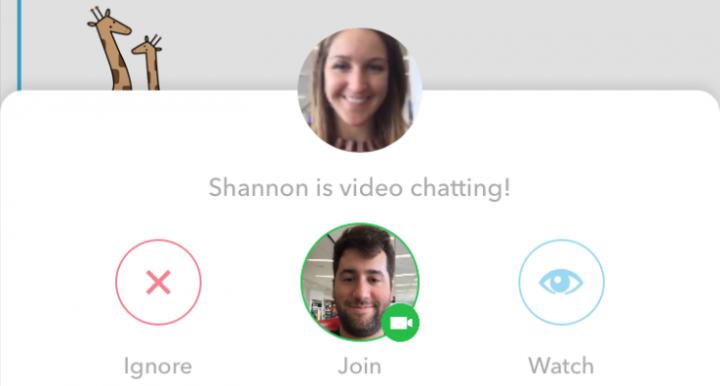 Imagen - Snapchat añade stickers, GIFs y conversaciones con vídeo