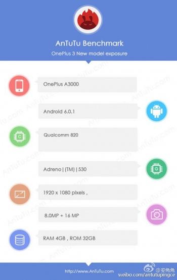 Imagen - OnePlus 3 filtrado, conoce los detalles