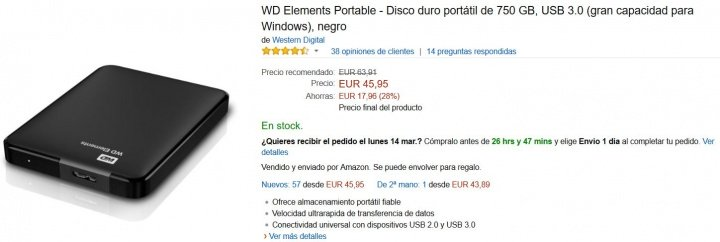Imagen - 7 discos duros externos baratos