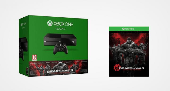 Imagen - Oferta: Xbox One con Gears of War Ultimate por 299 euros