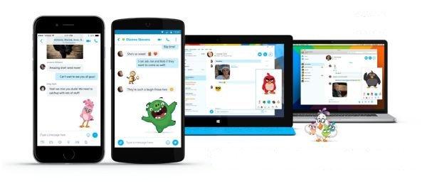 Imagen - Los emojis de Angry Birds llegan a Skype