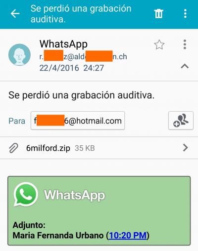 Imagen - Nuevo bulo de WhatsApp: no abras el audio perdido