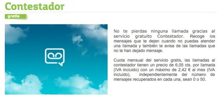 Imagen - Movistar sube el precio del contestador