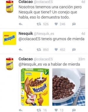 Imagen - La discusión entre Cola Cao y Nesquik en Twitter se vuelve viral
