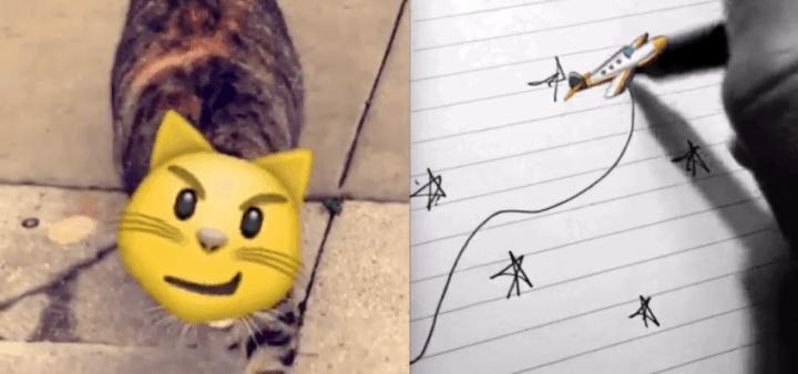 Imagen - Snapchat añade emojis que se mueven en los vídeos