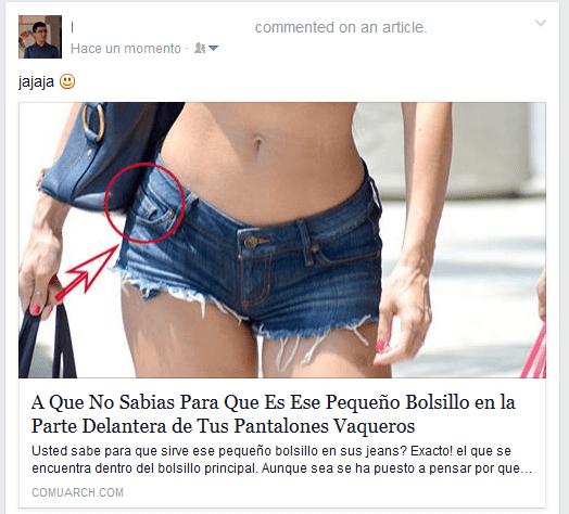 """Imagen - Cuidado con las publicaciones con comentarios como """"excelente"""" o """"jajaja"""" en Facebook"""