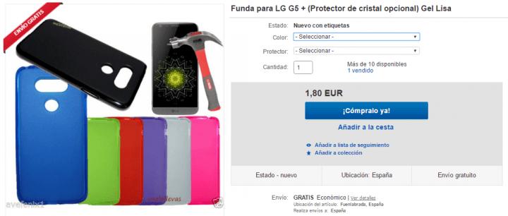 Imagen - 7 fundas para el LG G5