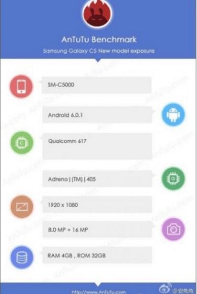 Imagen - Filtradas las características del Samsung Galaxy C5