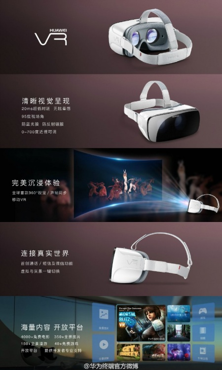 Imagen - Huawei VR, las gafas de realidad virtual de Huawei