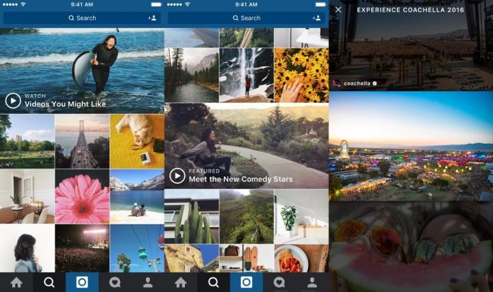 Imagen - Instagram actualiza la función de explorar con canales de vídeo