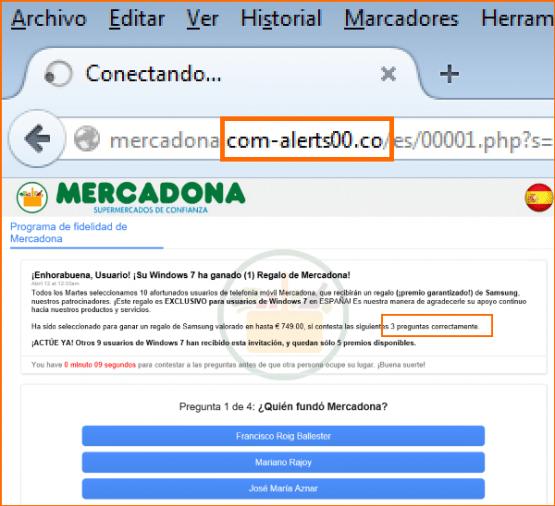 Imagen - Cuidado con una falsa web de Mercadona
