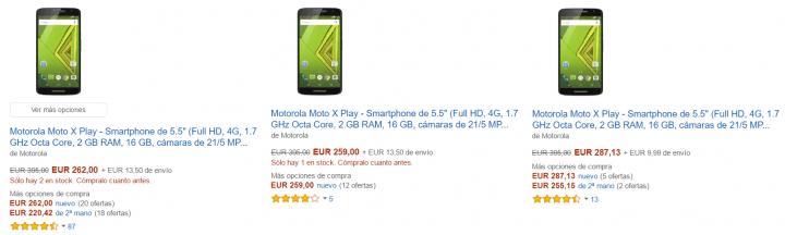 Imagen - Consigue el Motorola Moto X Play por menos de 290 euros