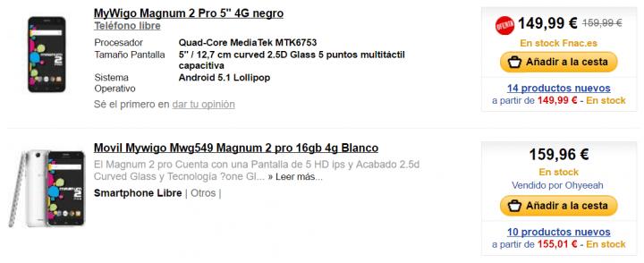 Imagen - Dónde comprar los MyWigo Magnum 2 y Magnum 2 PRO