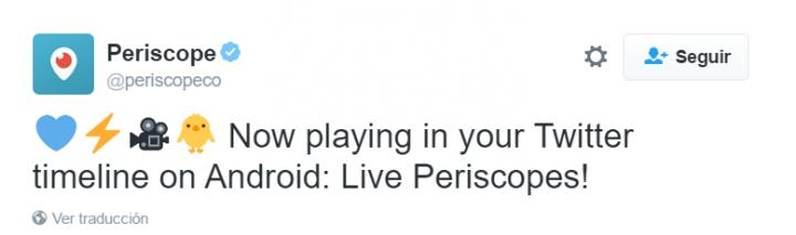 Imagen - Twitter reproducirá automáticamente los vídeos de Periscope