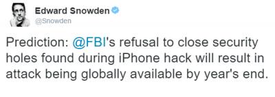 Imagen - Snowden asegura que Apple pronto será atacada