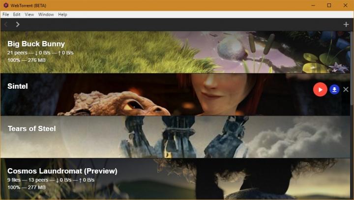 Imagen - WebTorrent Desktop permite visualizar cualquier torrent en streaming