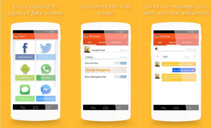 Imagen - Estas apps permiten crear conversaciones falsas de WhatsApp y Facebook