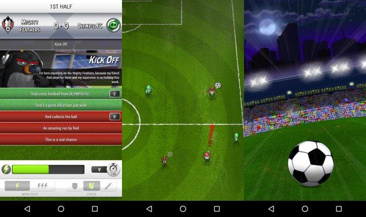 """Imagen - Descarga Angry Birds Goal! para Android, los """"pájaros enfadados"""" se pasan al fútbol"""