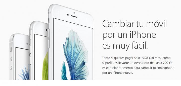 Imagen - Apple lanza un plan renove para iPhones en España