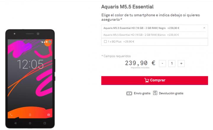 Imagen - bq Aquaris M5.5 Essential, el nuevo smartphone de bq