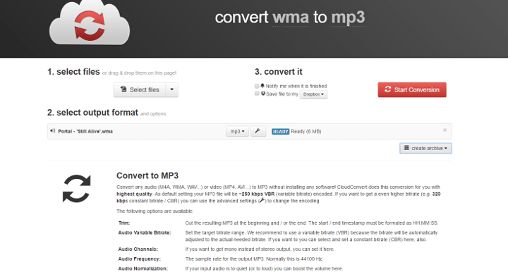 Imagen - Cómo convertir wma a mp3