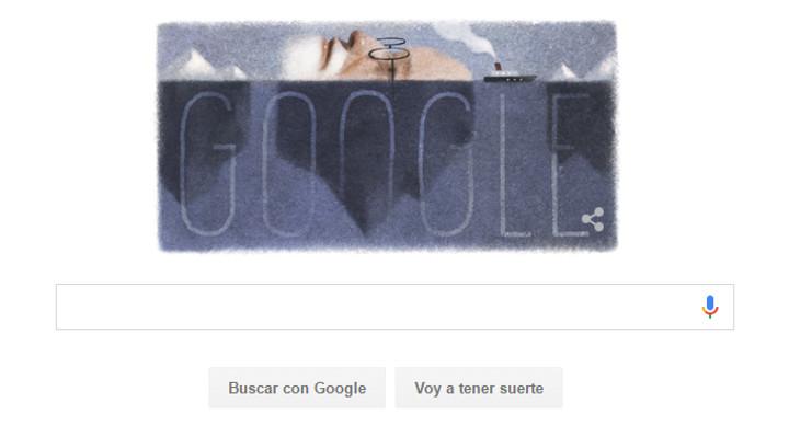 Google celebra con un Doodle el 160 aniversario del nacimiento de Sigmund Freud
