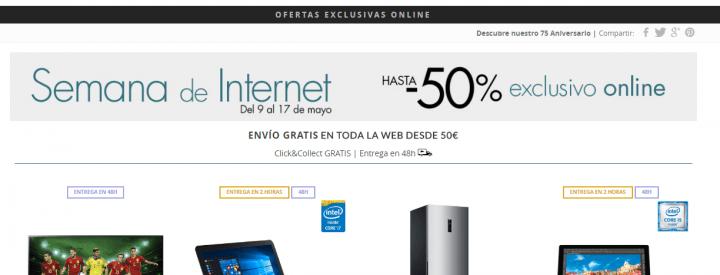 Imagen - El Corte Inglés celebra la Semana de Internet 2016