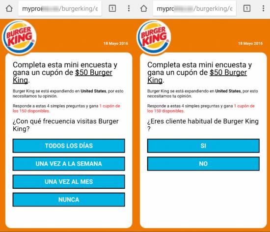 Imagen - Una nueva estafa ofrece un falso descuento para Burger King