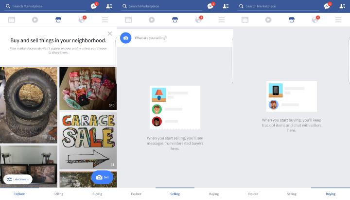 Imagen - Facebook añade venta de segunda mano a su aplicación móvil