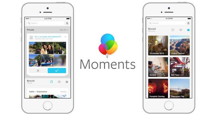 Descarga Facebook Moments en Android e iOS, ya disponible en España