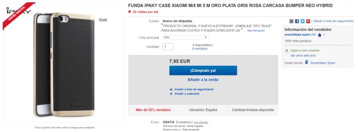 Imagen - 7 fundas para el Xiaomi Mi5