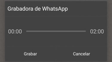 Imagen - Cómo escuchar un audio de WhatsApp antes de enviarlo
