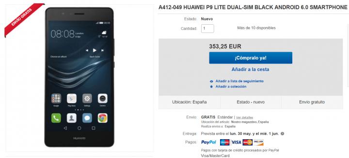 Imagen - Dónde comprar el Huawei P9 Lite