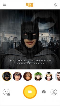 Imagen - LINE Egg, la app que transforma los selfies al estilo Snapchat