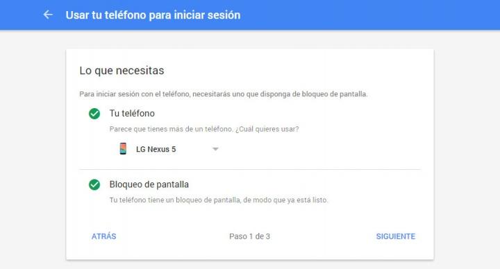 Imagen - Gmail ya permite iniciar sesión sin contraseña