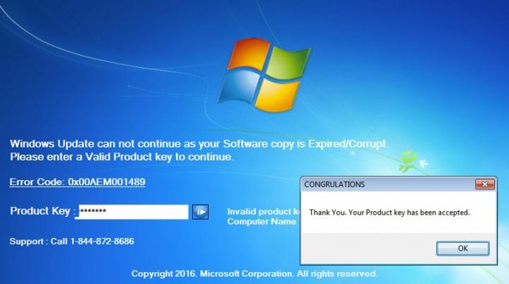 Imagen - Cuidado con el malware que te pide renovar tu licencia de Windows