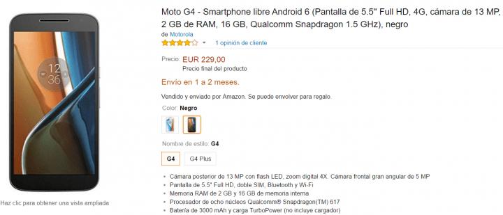 Imagen - Ya puedes comprar el Moto G4 y Moto G4 Plus en España