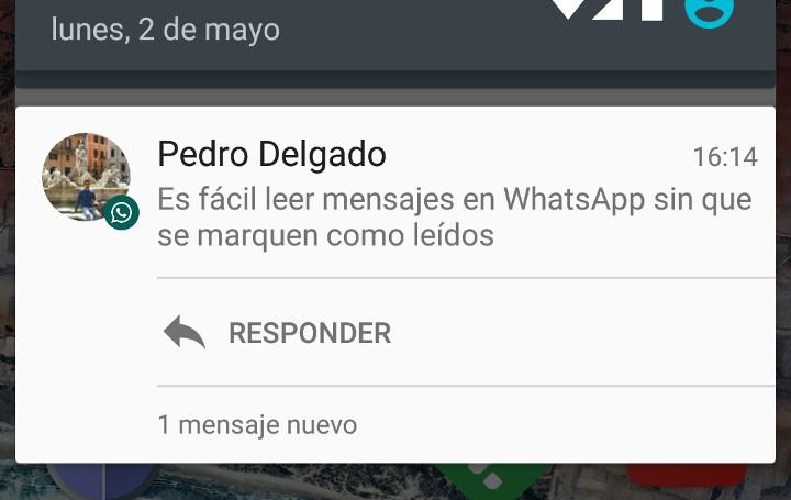 Imagen - Cómo leer WhatsApp sin que se marque como leído