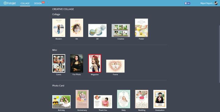 Imagen - Review: FotoJet, crea online tus propios collages e imágenes para redes sociales