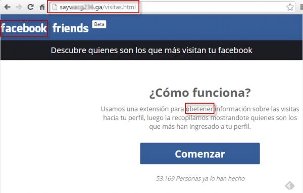"""Imagen - Cuidado: Vuelve la estafa de """"¿Quién visita tu perfil de Facebook?"""""""