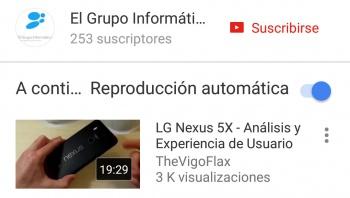 Imagen - YouTube para Android está añadiendo Reproducción automática