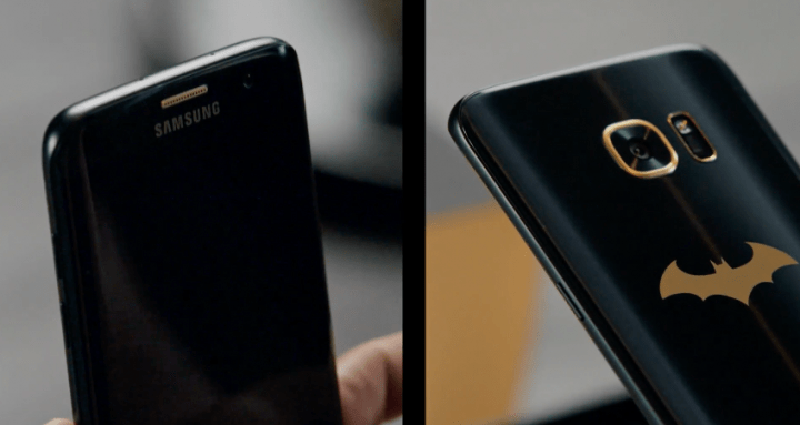 Imagen - Samsung Galaxy S7 Edge Injustice Edition, inspirado en Batman, ya es oficial