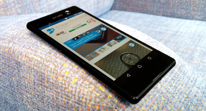 Imagen - Review: Sony Xperia M5, gran diseño y excelente cámara un precio ajustado