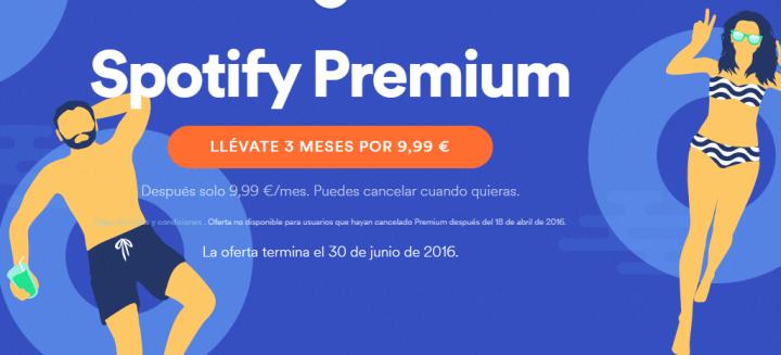 Imagen - Consigue 3 meses de Spotify Premium por 9,99 €