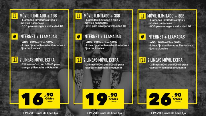 Imagen - MásMóvil lanza su oferta convergente de Internet, fijo y móvil con llamadas ilimitadas