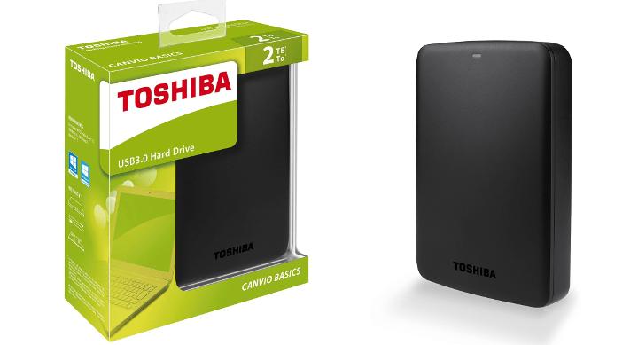 Imagen - Oferta: Toshiba Canvio Basics de 2 TB por solo 77 euros
