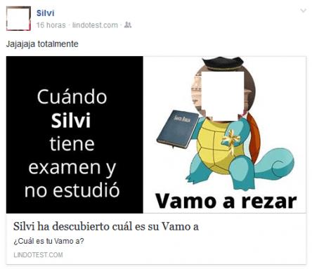"Imagen - Descubre cúal es tu ""Vamo a"""