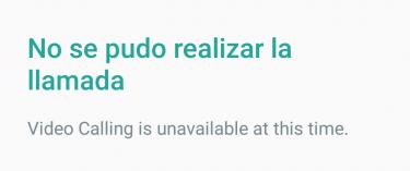 Imagen - WhatsApp ya muestra la opción de videollamadas