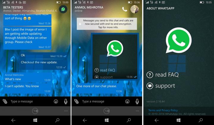 Imagen - WhatsApp 2.16.44 para Windows Phone mejora la interfaz
